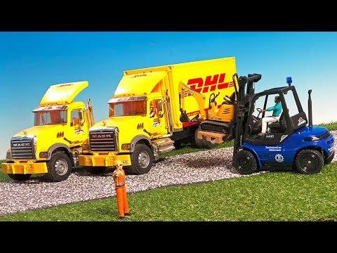 Kleinkindspielzeug Scania R-Serie UPS Logistik-LKW