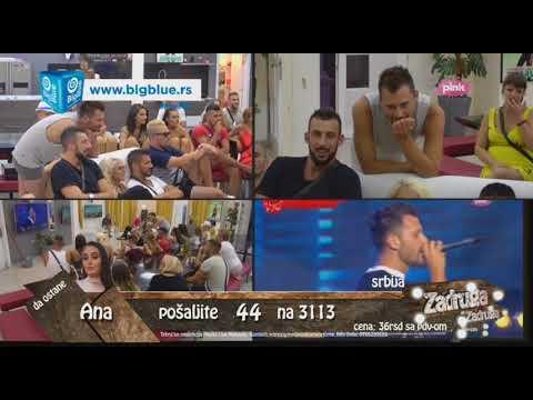 Zadruga - Zadrugari gledaju svoje nastupe sa 'Zadrugovizije 4' - 12.06.2018.