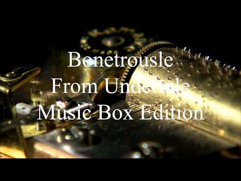 Bonetrousle from Undertale - Authentic Music Box - Sheet Music + VST