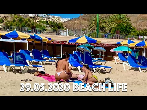 Gran Canaria Playa De Amadores Beach Life Is Back 🏖