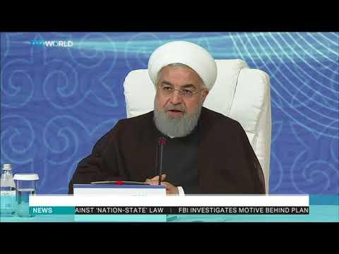 Putin and Rouhani welcome Caspian Sea deal