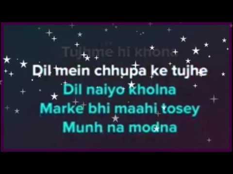 Bolna mahi bolna karaoke with lyrics   clean instrumental   alia bhatt   arijit singh