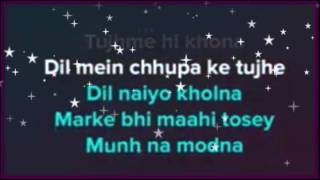 Bolna mahi bolna karaoke with lyrics | clean instrumental | alia bhatt | arijit singh
