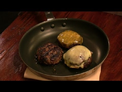 How to make turkey burger on stove