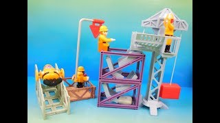 2000 McDONALDS McWORKS Co. SET OF 4 HAPPY MEAL KIDS BUILDING CONSTRUCTION TOYS VIDEO REVIEW