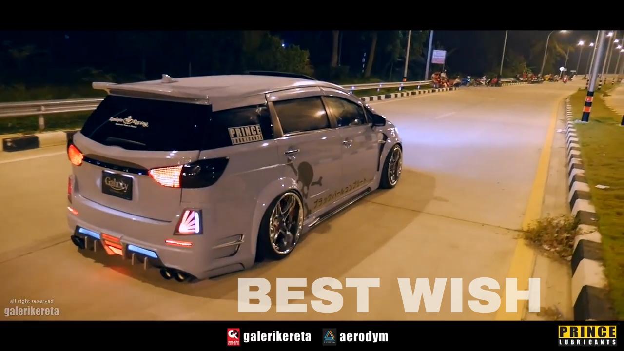 Toyota Wish Interior Modified by KJ Modify - YouTube