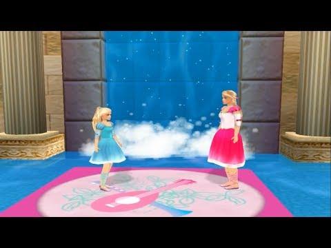 Игра Барби 12 Танцующих Принцесс #4   Прохождение игры Барби (Barbie In The 12 Dancing Princesses)