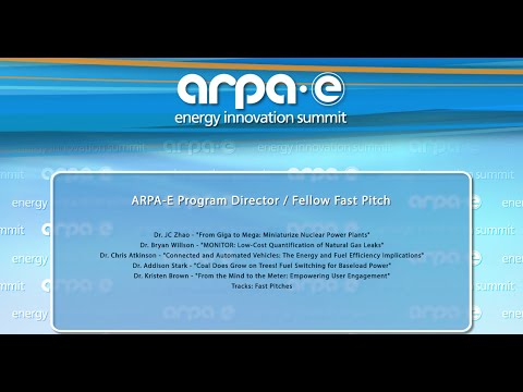ARPA-E Program Director/Fellow Fast Pitch 2