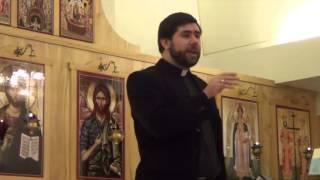 April 1, 2013: Fr. Anthony Cook speaks on Prayer at St. Nicholas GOC, Ann Arbor, Michigan