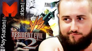 The BEST PS1 Games? Final Fantasy VII vs Resident Evil 2 - Madness