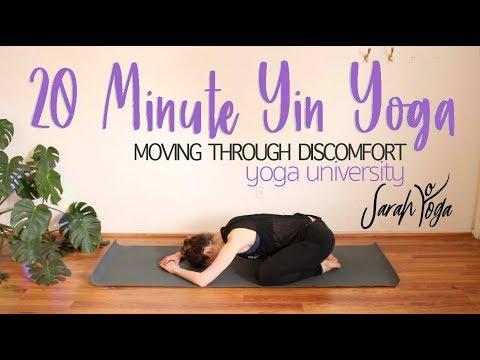 Yoga University - 20 Minute Yin Yoga Sequence