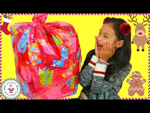 Giant Surprise Toys Christmas Bag FIlled with FUN Kids HOT HOLIDAY TOYS 2016 - Tiana Hearts - 동영상