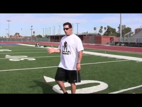 Wide Receiver Training #4 - Route Running with Terry Vaughn