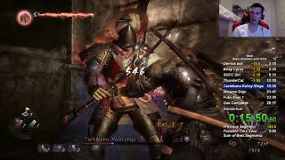 First Ever Nioh All Main Missions With All DLCs Speedrun in 3:20:35 RTA