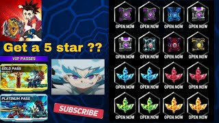 Gambar cover Open all kinds boxes form VIP PASSES | Beybladeburst Rivals App
