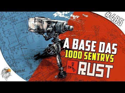 Download Youtube: RUST - RAIDAMOS A CASA DAS 1000 SENTRYS #485