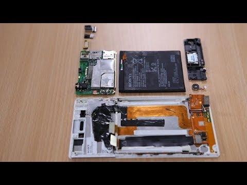 Sony Xperia T3 Style Teardown