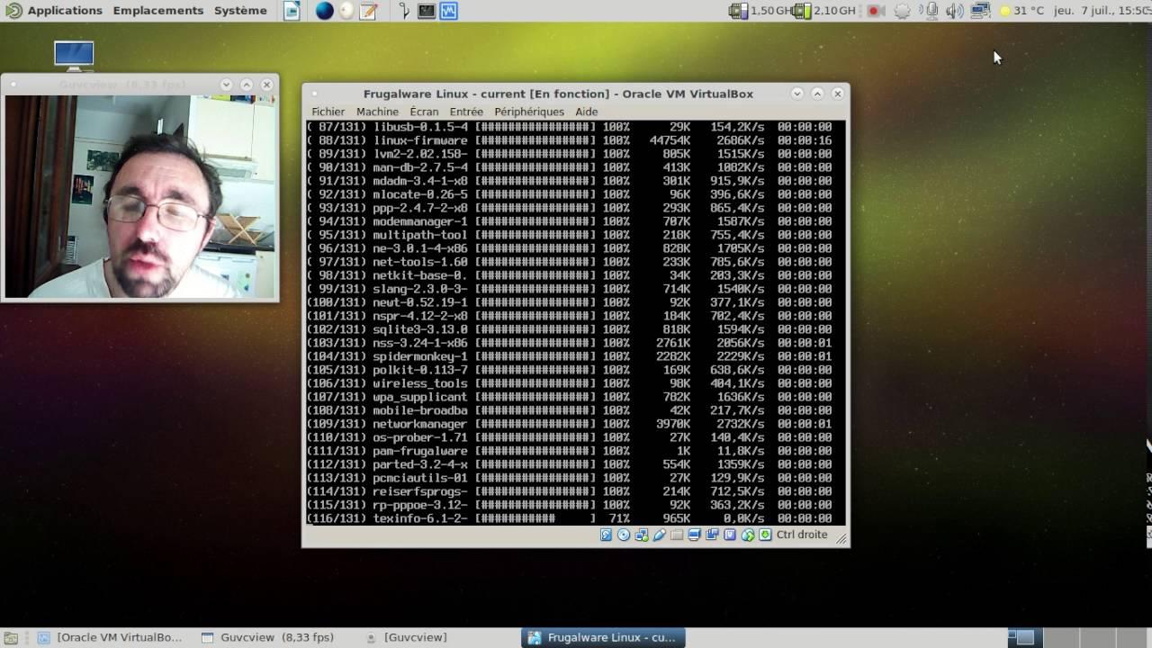 Frugalware Linux current -  juillet 2016