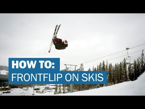 How to FRONTFLIP on skis with Jesper Tjäder