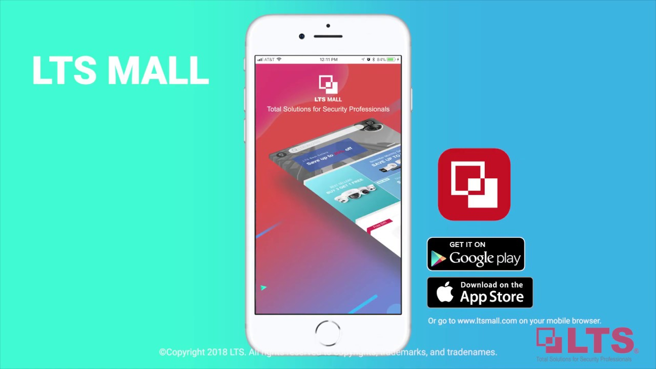 Experience Shopping with the LTS Mall App - Shop On The Road