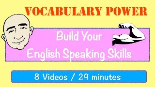 Vocabulary Power | Daily Expressions | English Speaking Practice | ESL | EFL