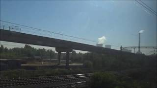 新幹線車窓 海外 北京南→上海虹橋 京滬高速鉄道1/4 Chinese bullet train high-speed passage! 高鐵 주행영상