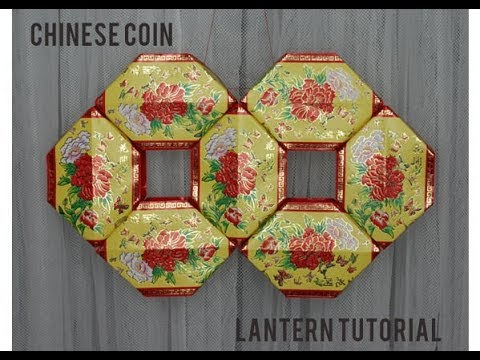 Chinese New Year Coin Lantern Tutorial | redfloweraddict