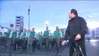 فيديو لزيارة السيد الرئيس للكلية الحربية اليوم