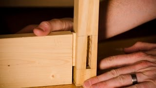 "How To Fit A Mortise & Tenon {part 9 Of ""build A Dovetail Desk With Hand Tools""}"