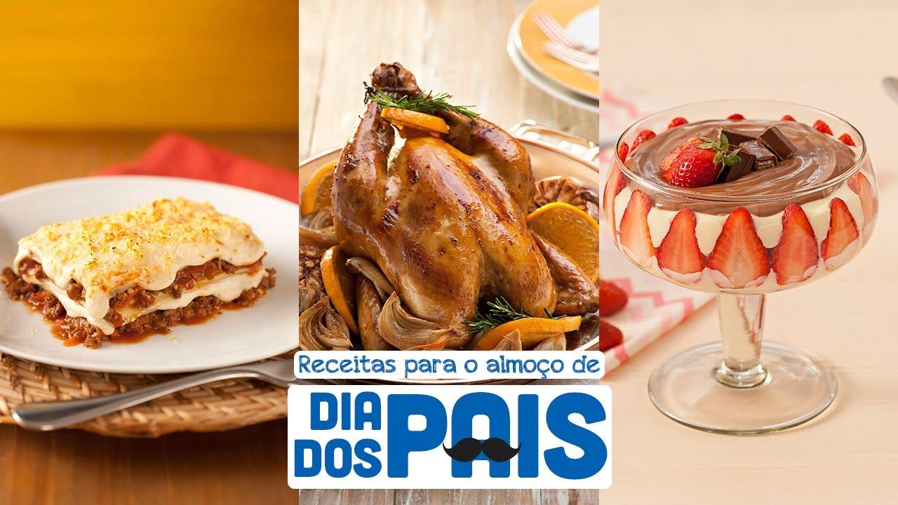 Receitas para o almoço de Dia dos Pais - Receitas Nestlé em Casa
