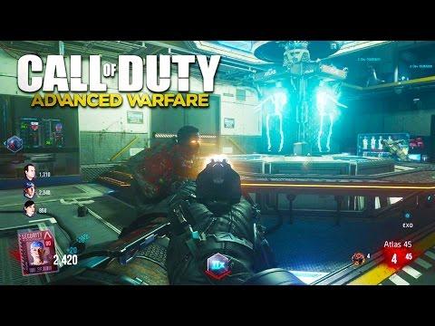 Call Of Duty: Advanced Warfare ZOMBIES GAMEPLAY! NEW Advanced Warfare Exo Zombies DLC Gameplay!