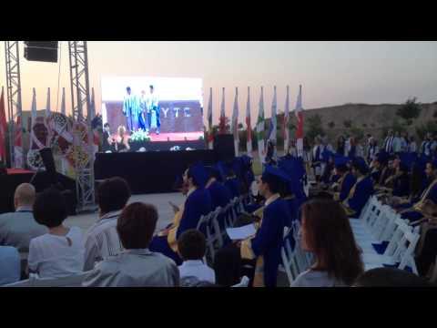 Izmir Institute of Technology PhD graduates receiving diplomas 2015