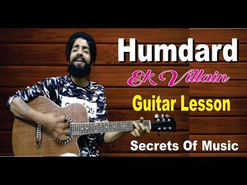Humdard | Guitar Lesson | Ek Villain |