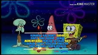 """Gambar cover Story wa sedih """"spongebob main gitar"""""""