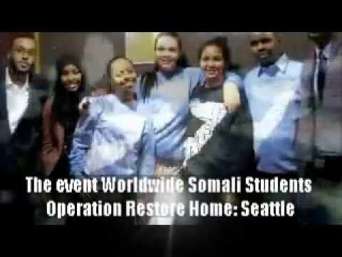 Worldwide Somali Students  Operation Restore Home: Seattle