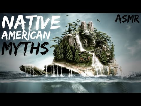 History ASMR | Native American Creation Myths (Soft Flute, Campfire Sounds)