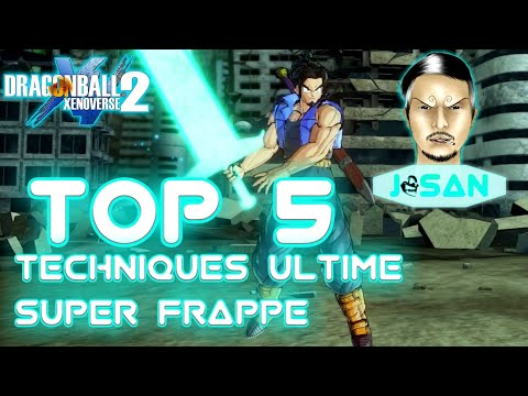DRAGON BALL XENOVERSE 2 : TOP 5 des Techniques Ultime SUPER FRAPPE