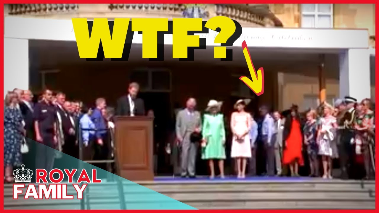 Download Meghan and Harry escorted out of Prince Charles garden party in unearthed video