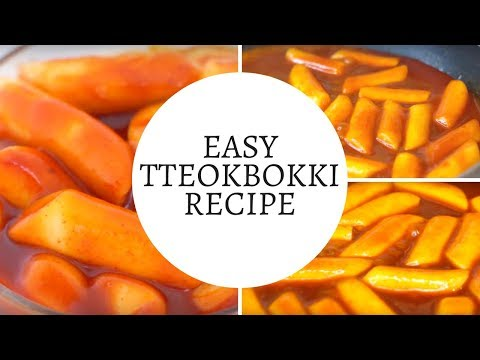 Tteokbokki Recipe Easy