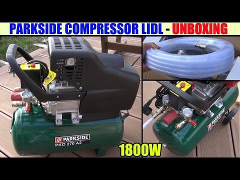 Parkside Compressor Lidl Pko 270 Kompressor αεροσυμπιεστης