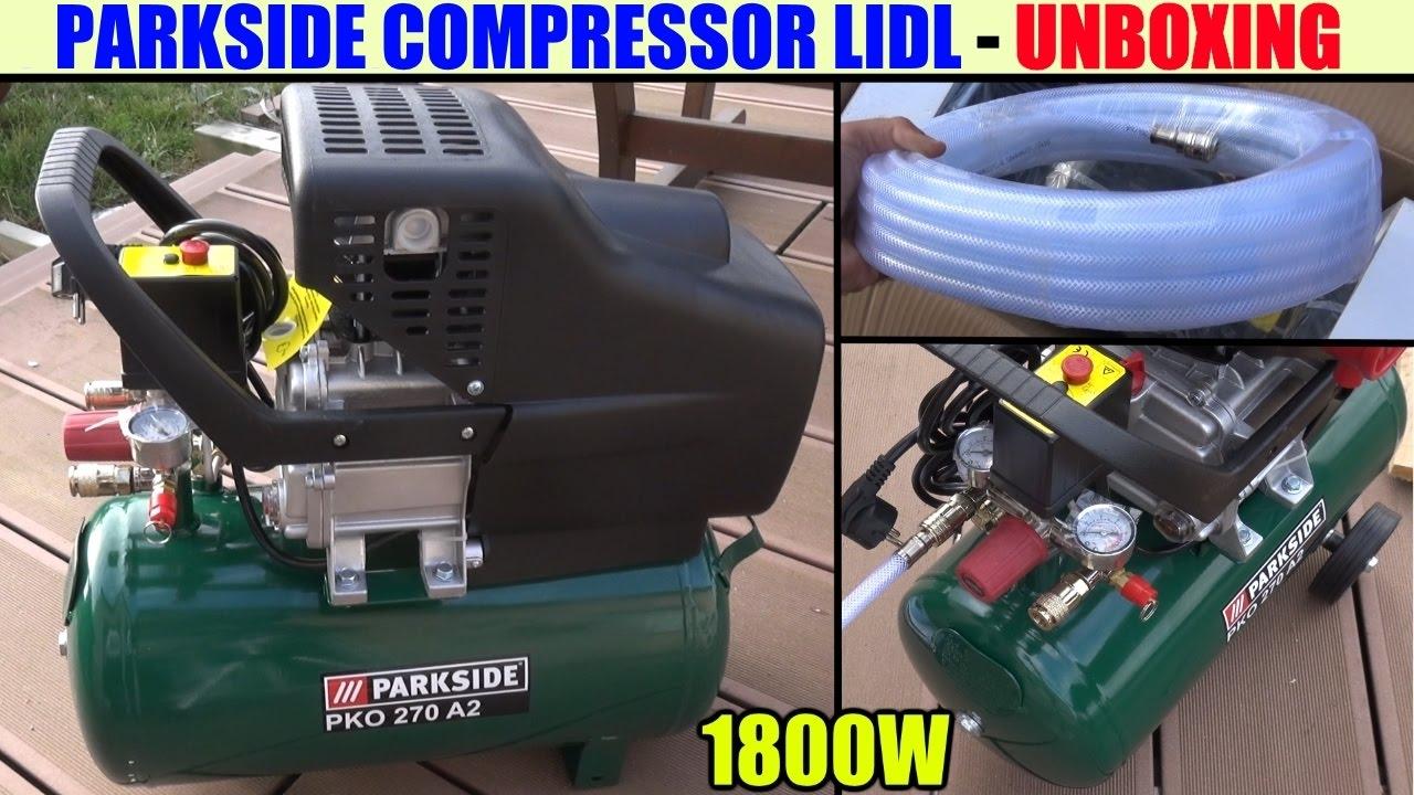 Parkside Compressor Lidl Pko 270 Kompressor αεροσυμπιεστης Compressore Compresor