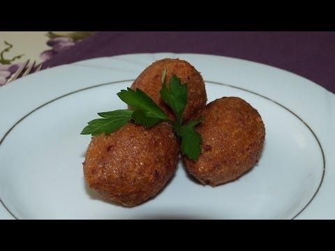 Stuffed Meatballs Recipe | Turkish Bulgar Wheat Meatballs