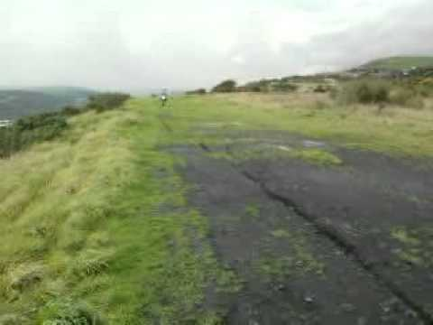 nantgarw tips pit bike