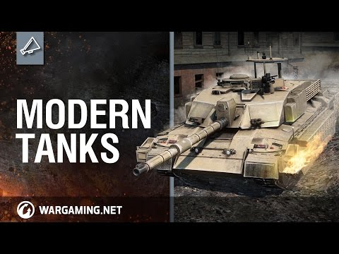 Developer Diaries. Modern tanks