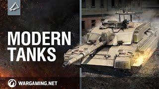 Developer Diaries. Modern tanks