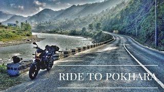 FAST RIDE TO POKHARA  |From kathmandu | pulsar NS 200 |!