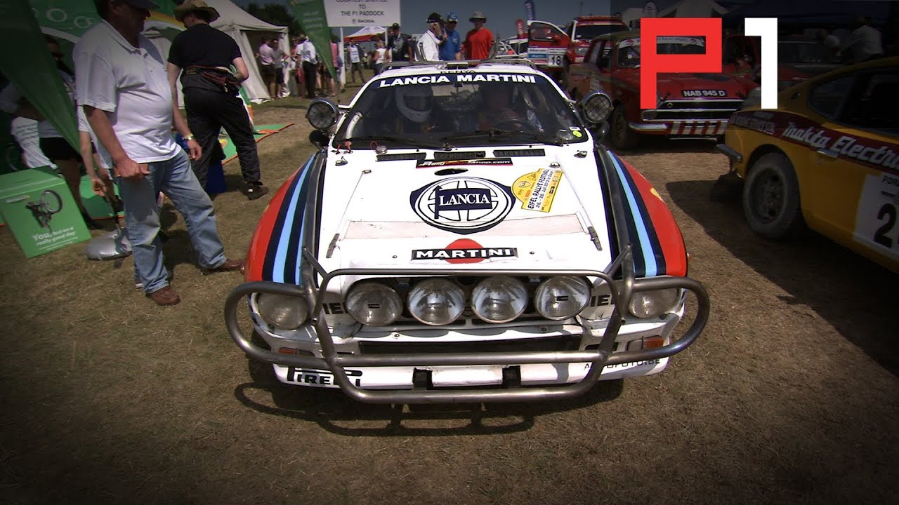 Flat Out Classic Rally Car At Goodwood Onboard Action Youtube