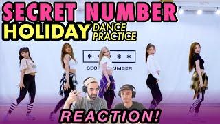 "SECRET NUMBER (시크릿넘버) ""Holiday"" Dance Practice REA…"