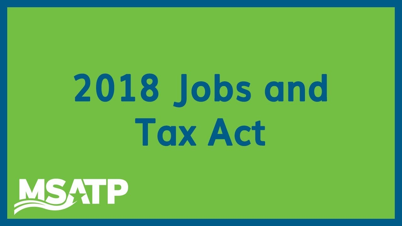 Key Takeaways You Shouldn't Miss from MSATP's Maryland Jobs and Tax