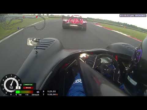 Radical Onboard Snetterton Race